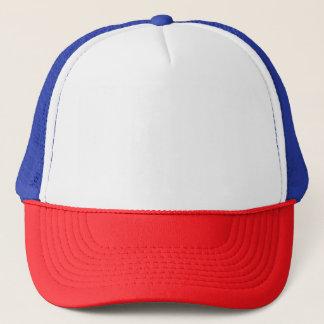 Roter/weißer/blauer Fernlastfahrer-Hut Truckerkappe