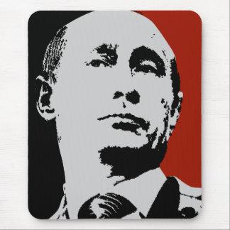 Roter Wladimir Putin Mauspad