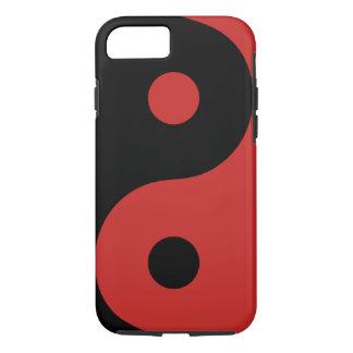 Roter Yin Yang Telefon-Kasten iPhone 8/7 Hülle