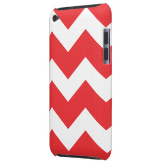 Roter Zickzack iPod-Kasten Case-Mate iPod Touch Case