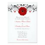 Rotes 12,7 X 17,8 Cm Einladungskarte