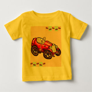 Rotes altes Auto Baby T-shirt