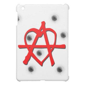 Rotes Anarchie-Symbol iPad Mini Hülle