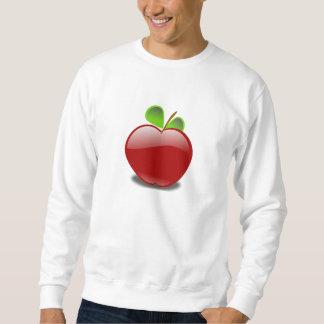Rotes Apple Sweatshirt