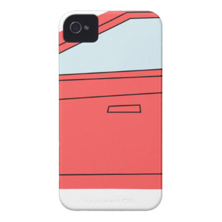 Rotes Auto iPhone 4 Case-Mate Hülle