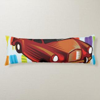 rotes Auto und Popsicles Seitenschläferkissen