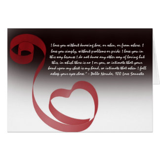 Rotes Band im Schlag der schwarzen Karte