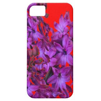 ROTES Blumengeschenk der Amethyst lila Hyazinthe Schutzhülle Fürs iPhone 5