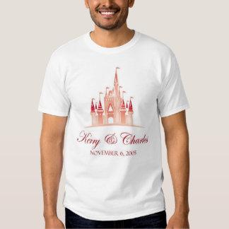 rotes Brautt-shirt Tshirts