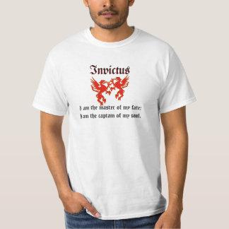 Rotes Drache Invictus T-Shirt