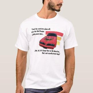 Rotes Drache-Shirt T-Shirt