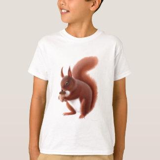 Rotes Eichhörnchen scherzt T - Shirt