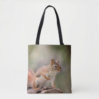 Rotes Eichhörnchen Tasche
