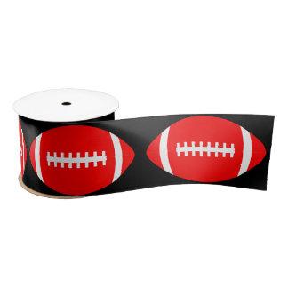 Rotes Fußball-Party-Band für Spieler oder Trainer Satinband