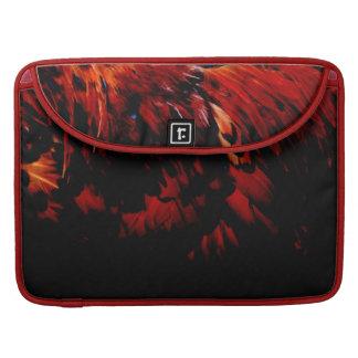 rotes Gefieder Sleeve Für MacBooks
