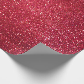 Rotes Glitzer-Verpackungs-Papier Geschenkpapier