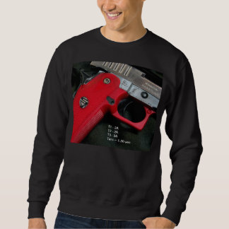 Rotes Griff-Sweatshirt Sweatshirt