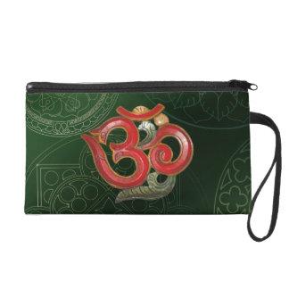 rotes grünes Holz schnitzte kosmetische Taschen-Ku