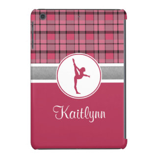 Rotes Gymnastik-Schatz kariertes iPad Minifall iPad Mini Retina Hüllen