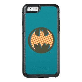 Rotes Halbtonlogo Batman-Symbol-| OtterBox iPhone 6/6s Hülle