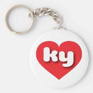 rotes Herz Kentuckys - MiniLiebe Schlüsselanhänger