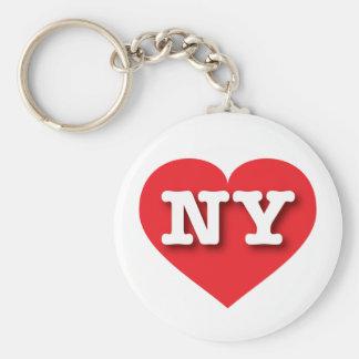 Rotes Herz New York - große Liebe Schlüsselanhänger