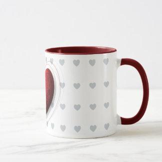 Rotes Herz, Tasse