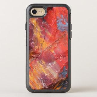 Rotes Holzdetail, Arizona OtterBox Symmetry iPhone 8/7 Hülle