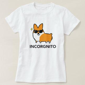 Rotes Incorgnito Shirt | CorgiThings