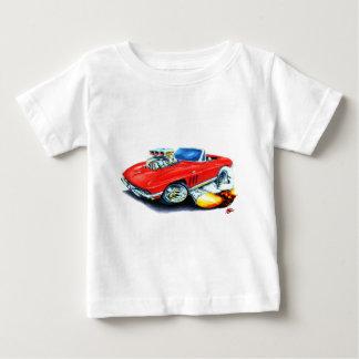 Rotes Kabriolett 1965 Korvette Baby T-shirt