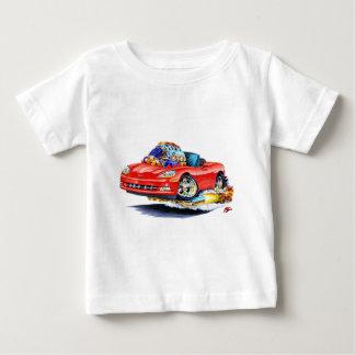 Rotes Kabriolett 2005-10 Korvette Baby T-shirt