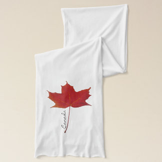 Rotes kanadisches Ahornblatt Schal