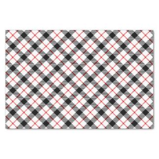 Rotes kariertes seidenpapier