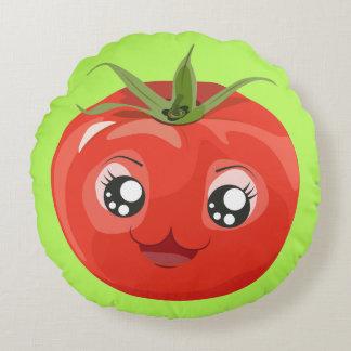 Rotes kawaii Tomate Kissen