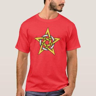 Rotes Kelte-Logo T-Shirt