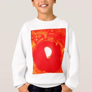 Rotes Kerzenlicht, Flamme, Kerze, WeihnachtsLiebe Sweatshirt