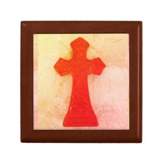 Rotes Kreuz Schmuckschachtel