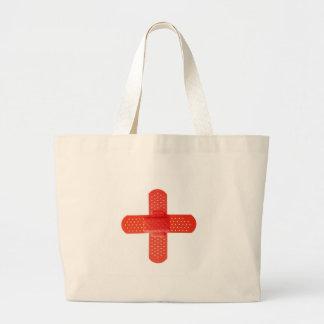 Rotes Kreuz Leinentaschen