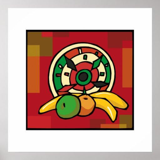 Rotes Kwanzaa Plakat
