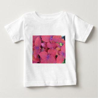 Rotes lila Buntlippen-Blätter Baby T-shirt