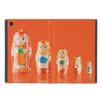 Rotes Matryoshka russisches Puppen iPad Minifall iPad Mini Etui