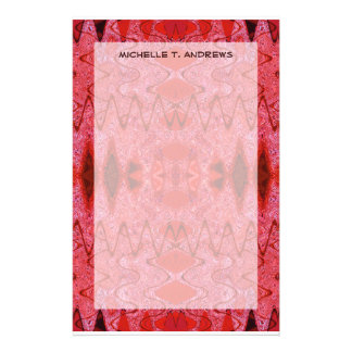 rotes Muster Druckpapier