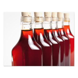 Rotes Öl Fotodruck