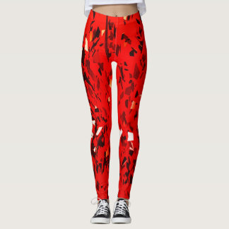 Rotes Party! Leggings