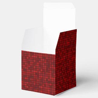 Rotes Pixel nehmen Bevorzugungs-Kasten heraus Geschenkschachtel