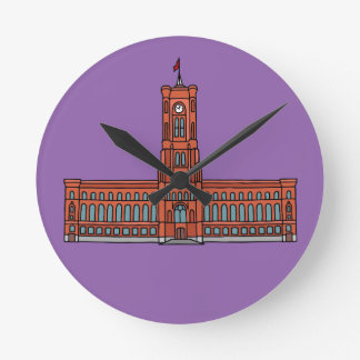 Rotes Rathaus Berlin Uhren