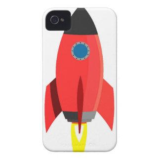 Rotes Rocket starten weg Case-Mate iPhone 4 Hülle