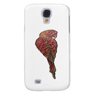 Rotes Scharlachrot Galaxy S4 Hülle
