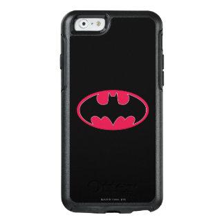 Rotes schwarzes Logo Batman-Symbol-| OtterBox iPhone 6/6s Hülle