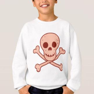 Rotes Skullington Sweatshirt